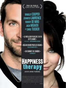 "Poster for the movie ""Happiness Therapy"""