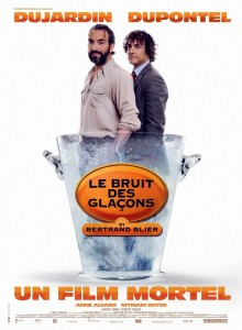 "Poster for the movie ""Le bruit des glaçons"""