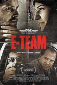 """Poster for the movie """"E-Team"""""""