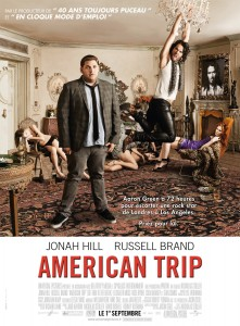 "Poster for the movie ""American Trip"""