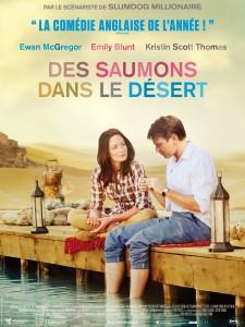 """Poster for the movie """"Des saumons dans le désert"""""""