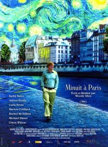 """Poster for the movie """"Minuit à Paris"""""""