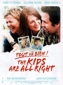 "Poster for the movie ""Tout va bien, The Kids Are All Right"""