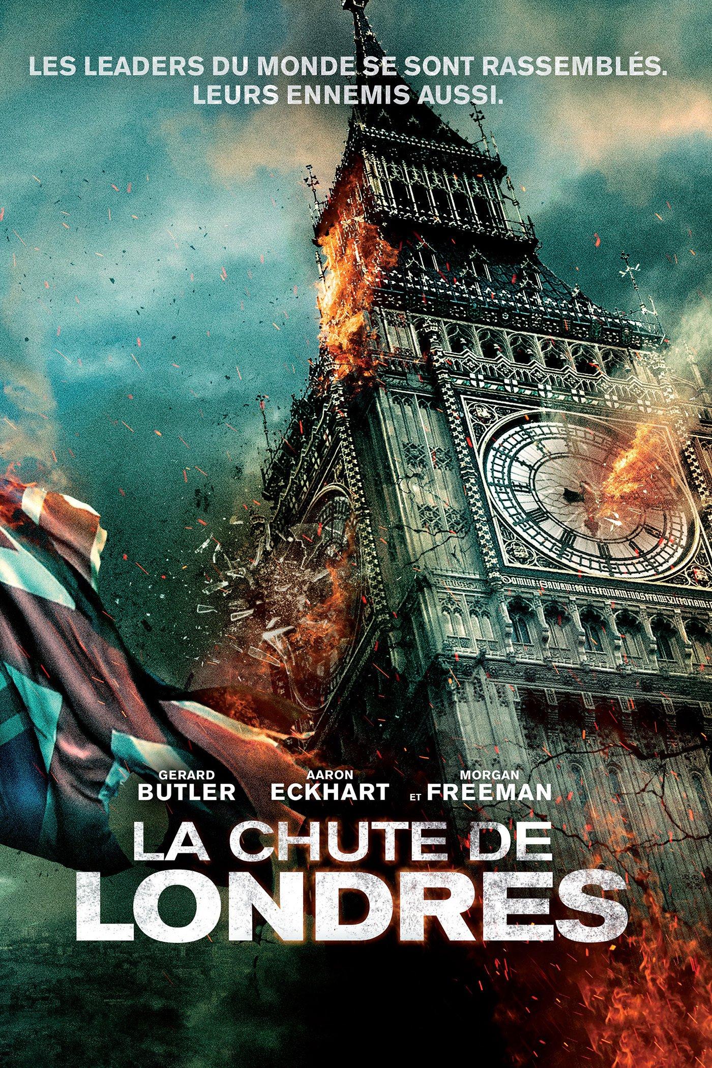 """Affiche du film """"La chute de Londres"""""""