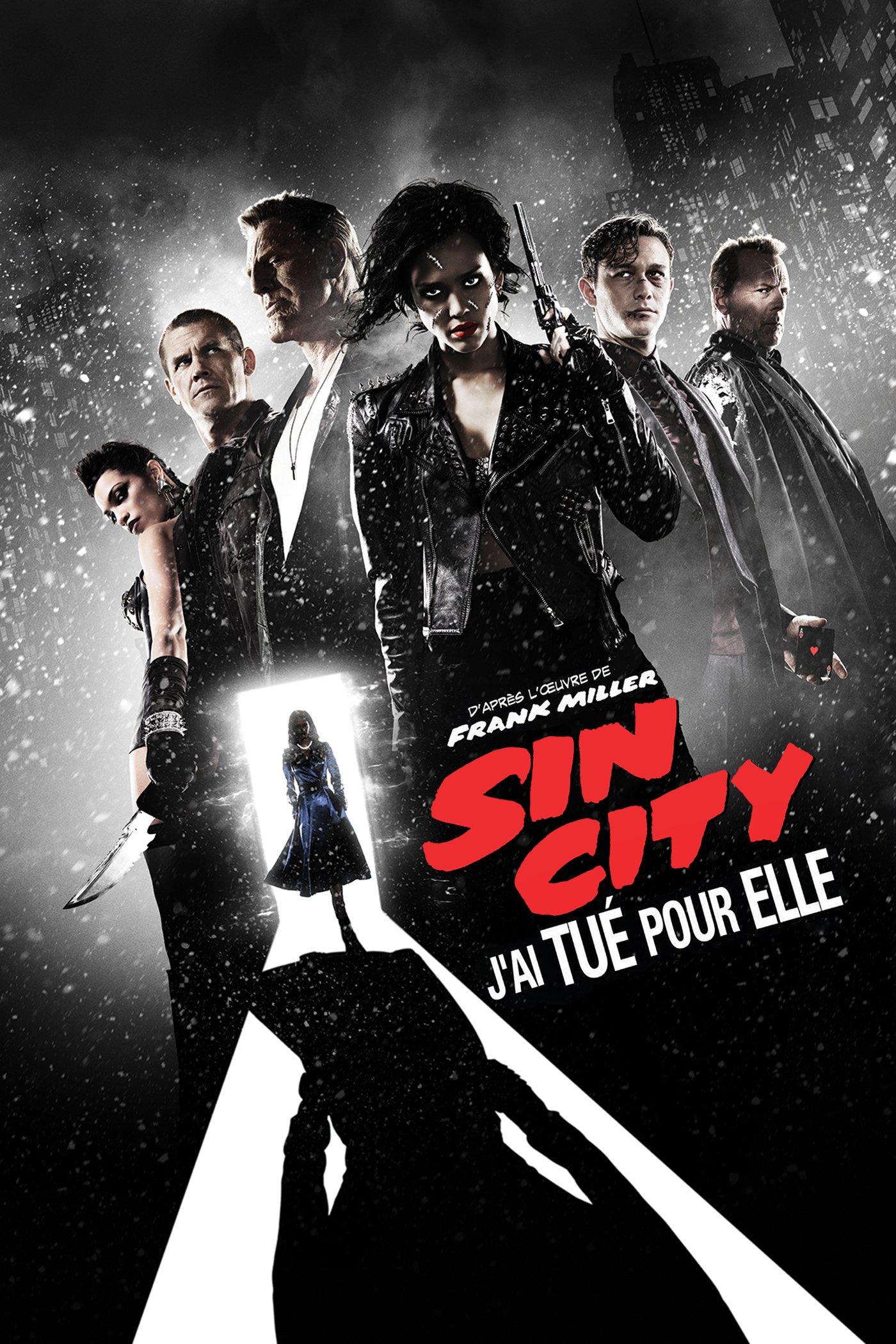 """Affiche du film """"Sin City - J'ai tué pour elle"""""""