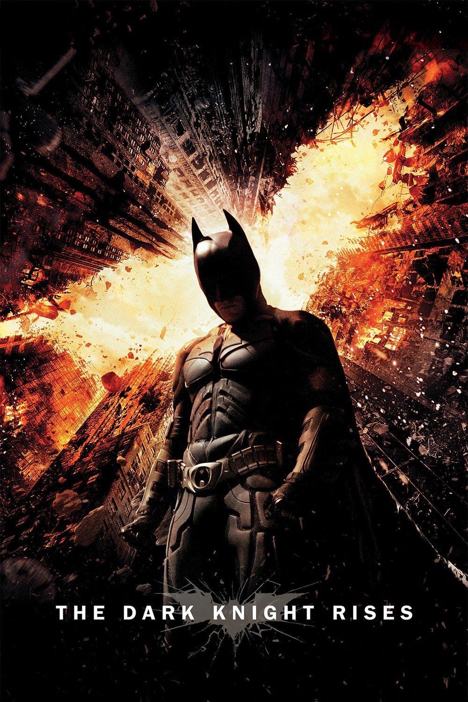 """Affiche du film """"The Dark Knight Rises"""""""