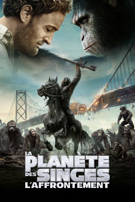 """Affiche du film """"La Planète des Singes - L'Affrontement"""""""