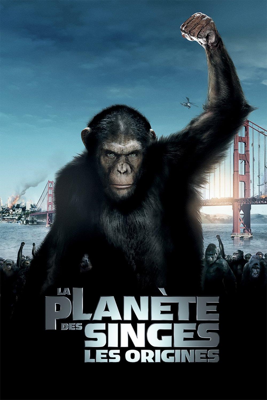 """Affiche du film """"La Planète des Singes - Les Origines"""""""