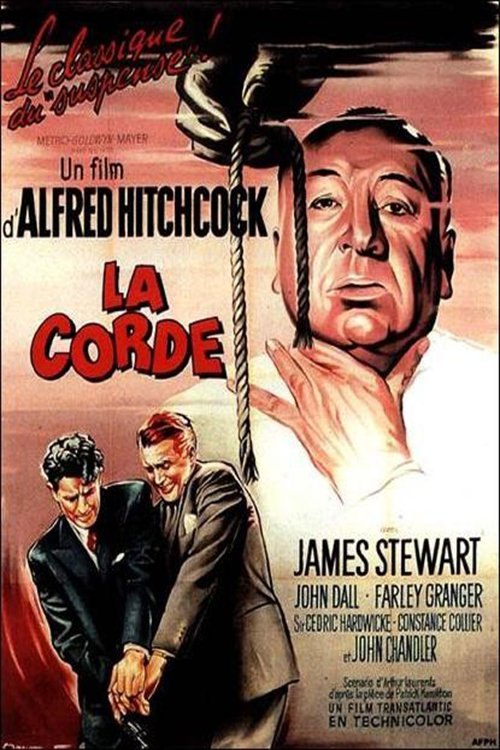 """Affiche du film """"La corde"""""""