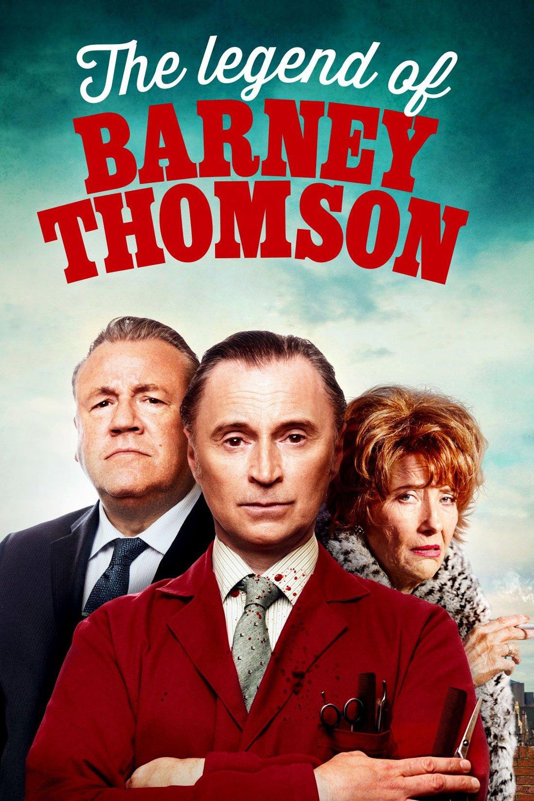 """Affiche du film """"La légende de Barney Thomson"""""""
