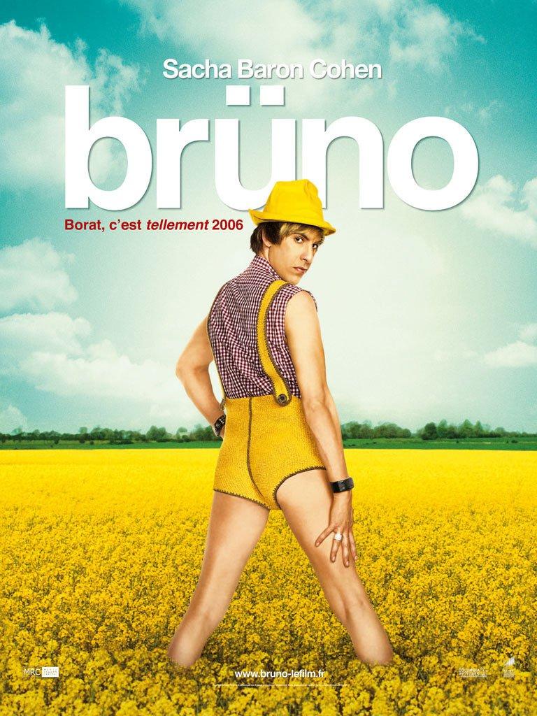 "Affiche du film ""Brüno"""