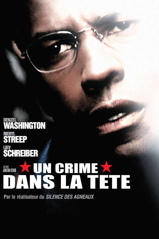 """Affiche du film """"Un crime dans la tête"""""""