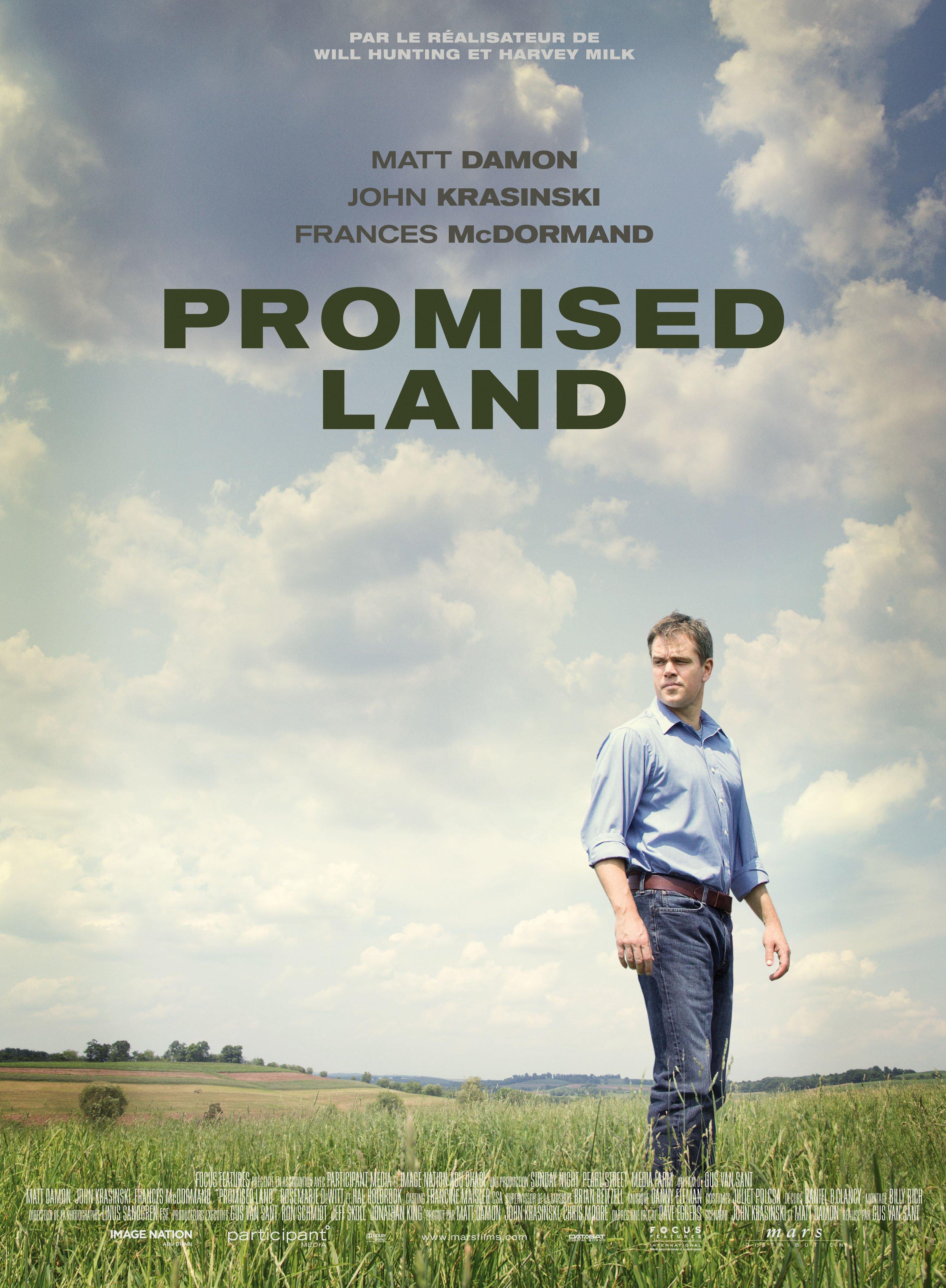 """Affiche du film """"Terre promise"""""""