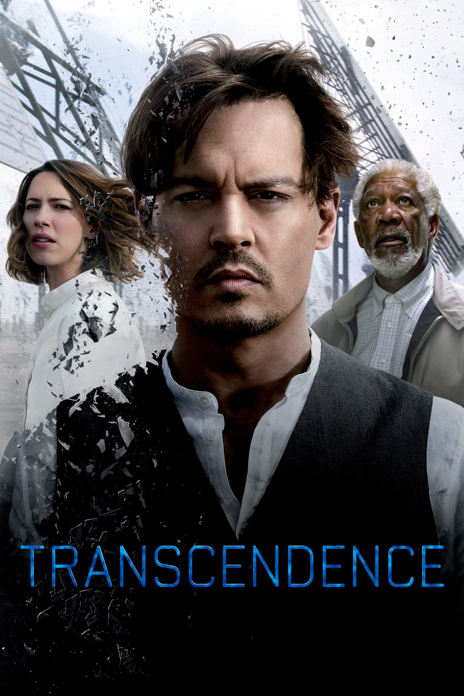 "Affiche du film ""Transcendance"""