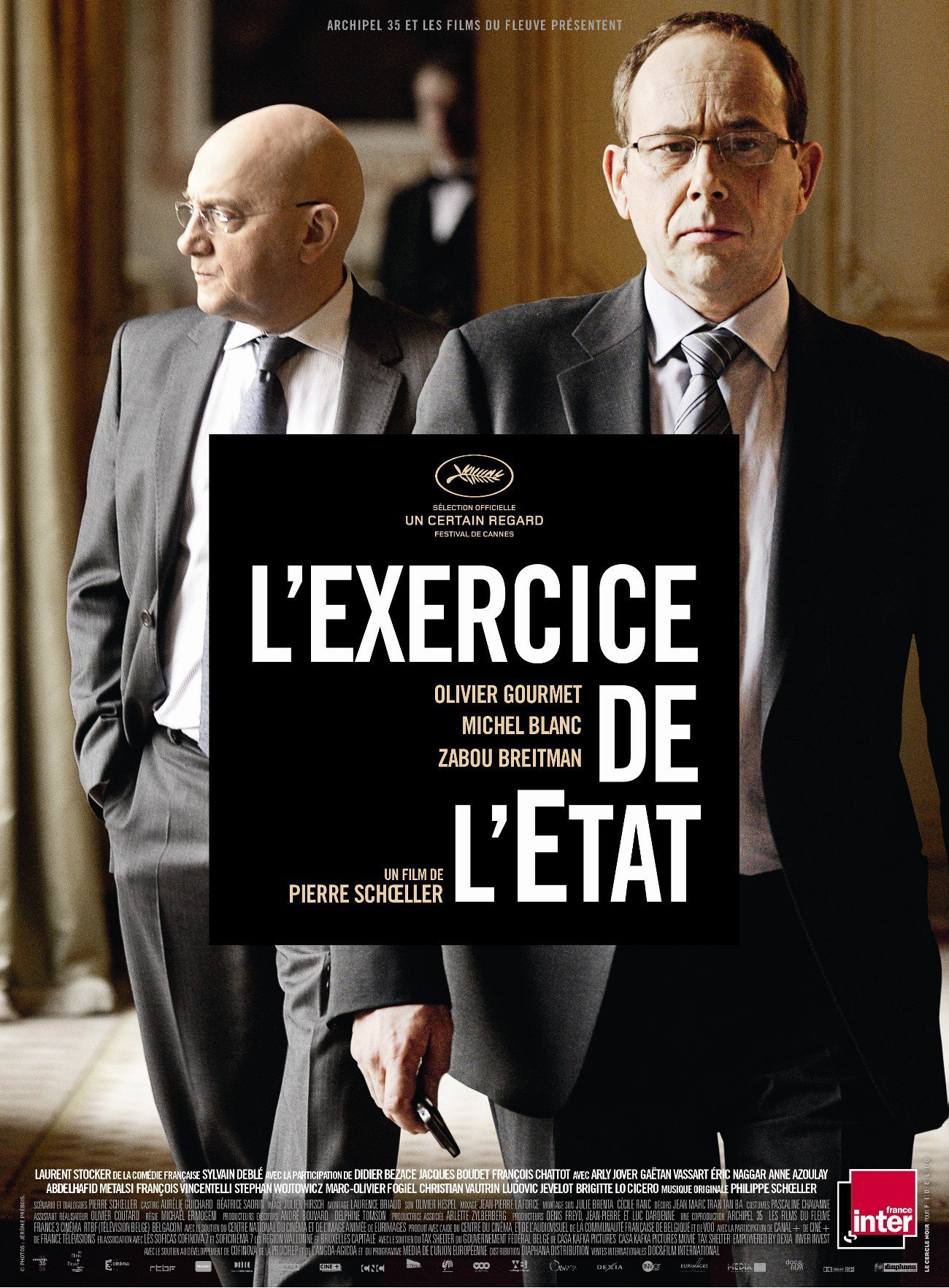 """Affiche du film """"L'Exercice de l'État"""""""