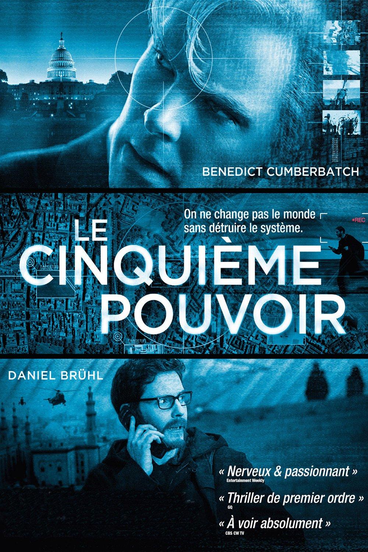 """Affiche du film """"Le cinquième pouvoir"""""""