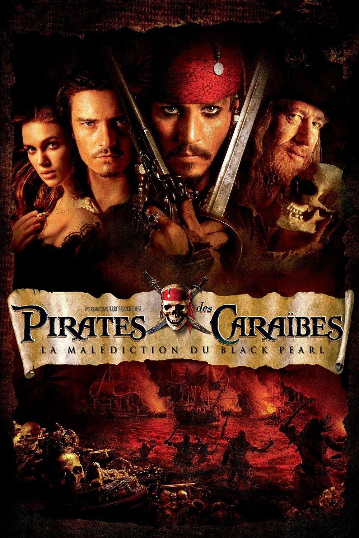 """Affiche du film """"Pirates des Caraïbes - La malédiction du Black Pearl"""""""