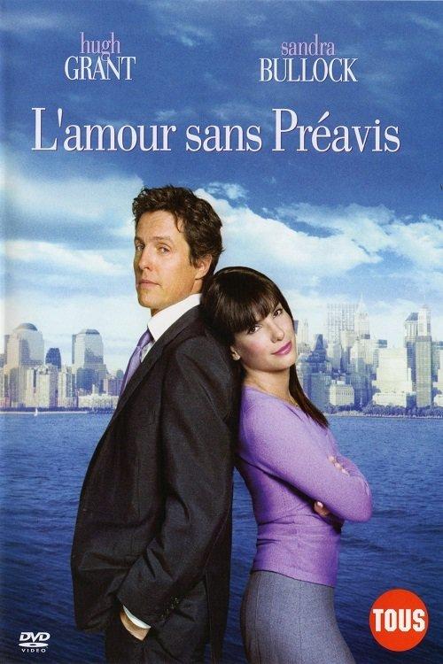 """Affiche du film """"L'Amour sans préavis"""""""