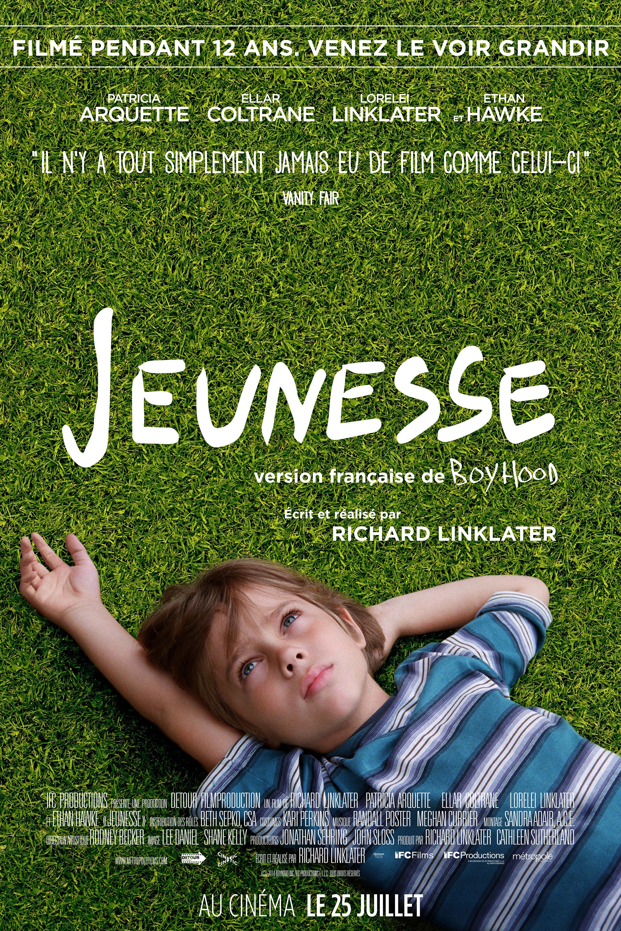"Affiche du film ""Boyhood"""