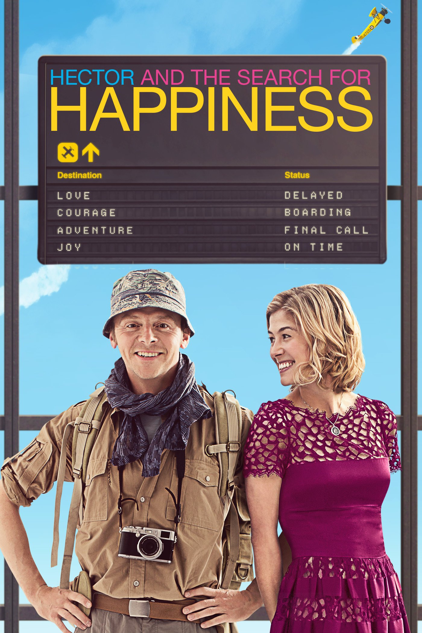 """Affiche du film """"Hector and the Search for Happiness"""""""