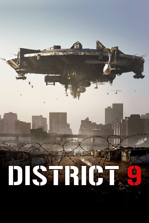 "Affiche du film ""District 9"""