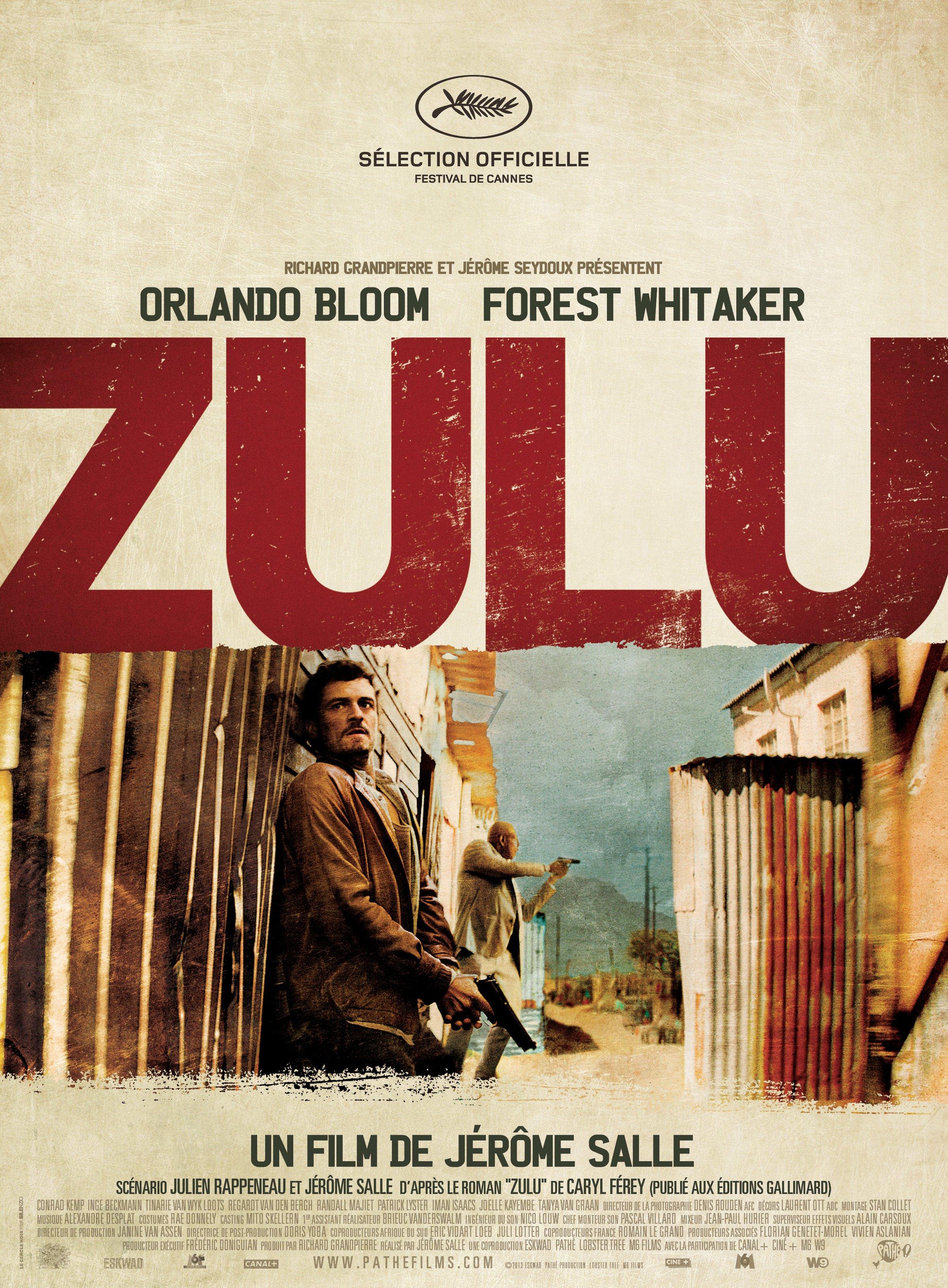 """Affiche du film """"Zulu"""""""
