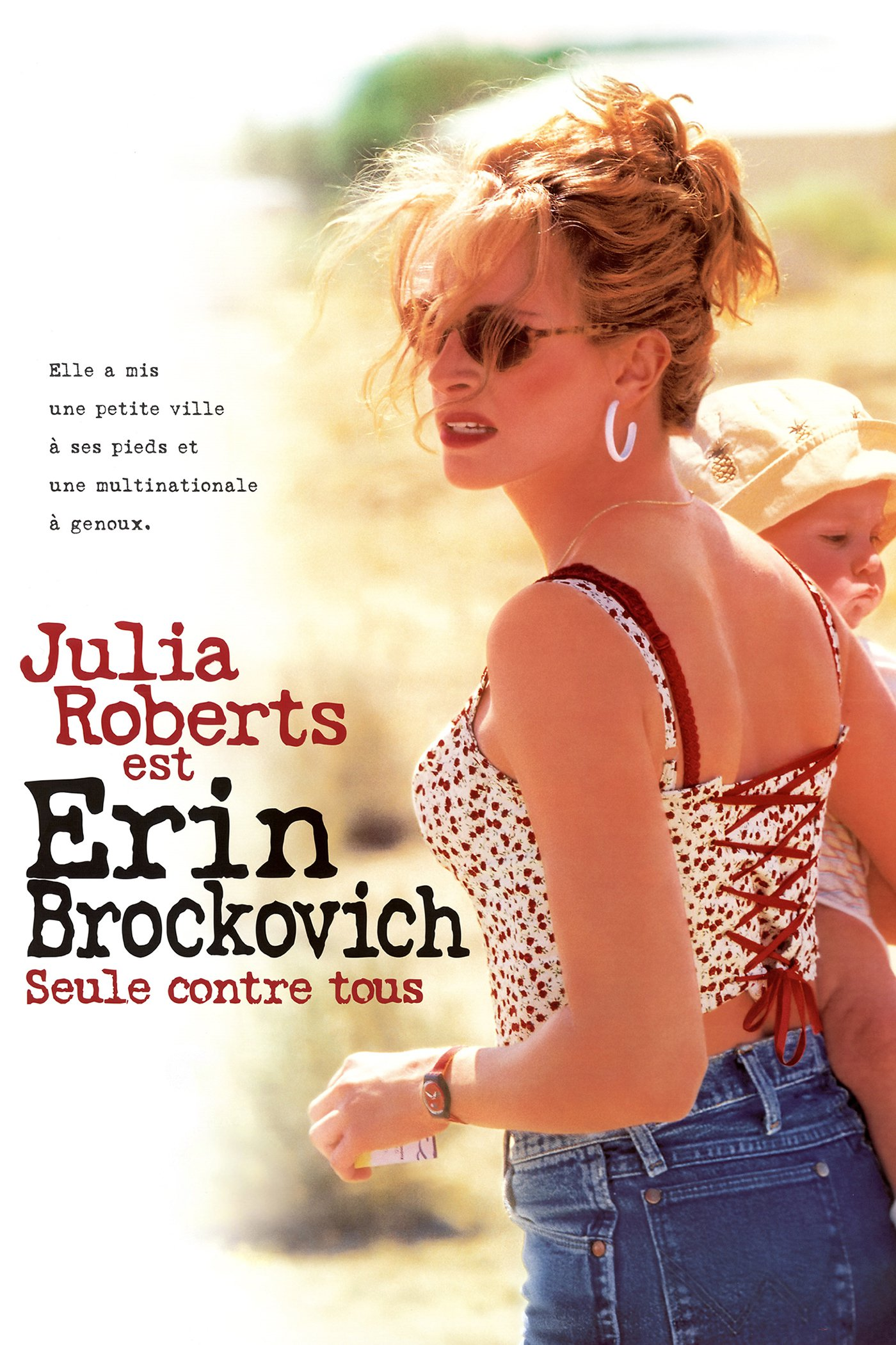 "Affiche du film ""Erin Brockovich, seule contre tous"""