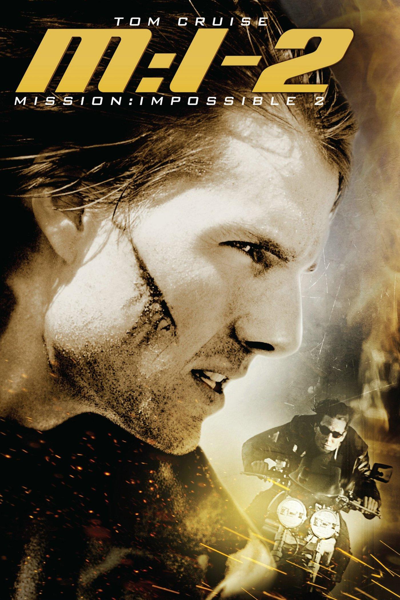 """Affiche du film """"Mission : Impossible 2"""""""