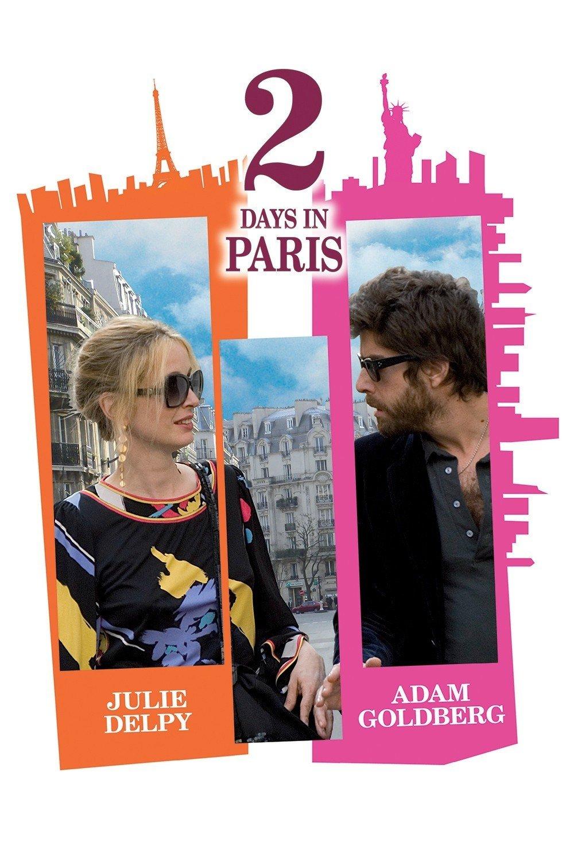 """Affiche du film """"2 Days in Paris"""""""