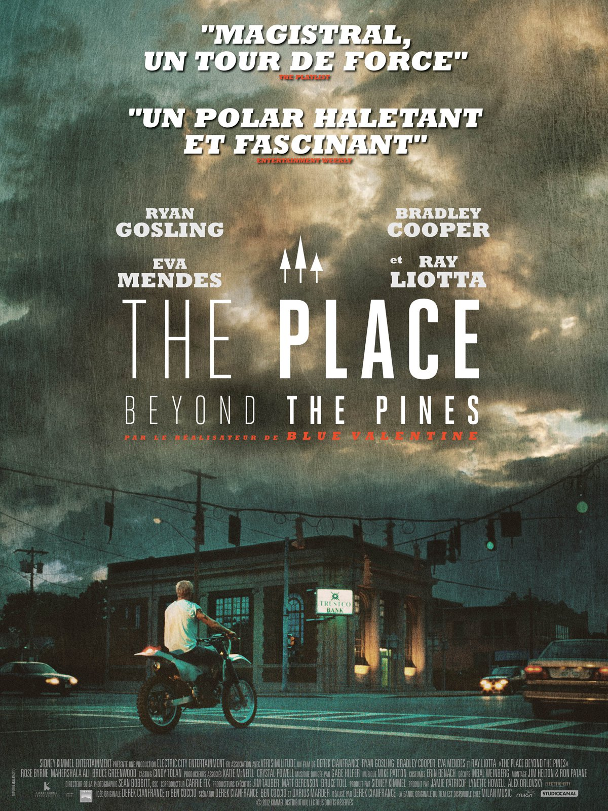 """Affiche du film """"The Place Beyond the Pines"""""""