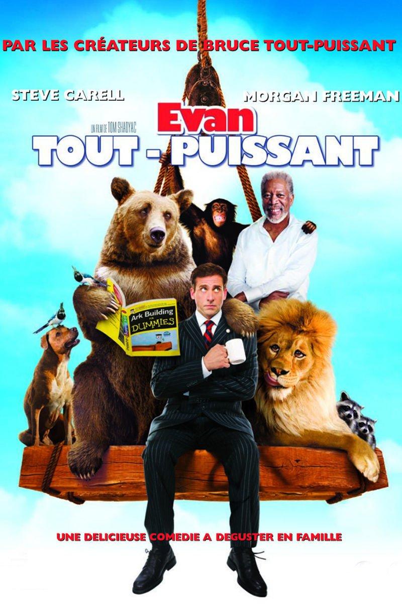 """Affiche du film """"Evan tout-puissant"""""""