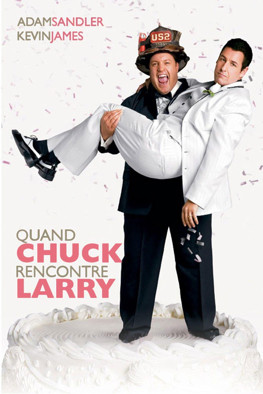 """Affiche du film """"Quand Chuck rencontre Larry"""""""