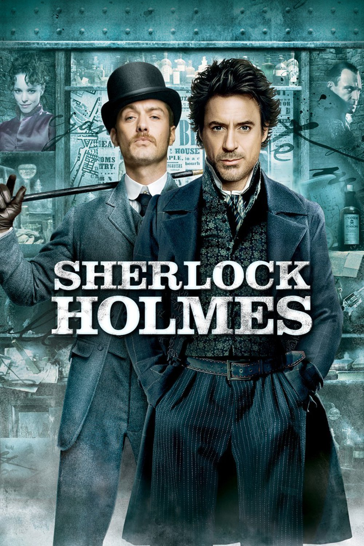 "Affiche du film ""Sherlock Holmes"""