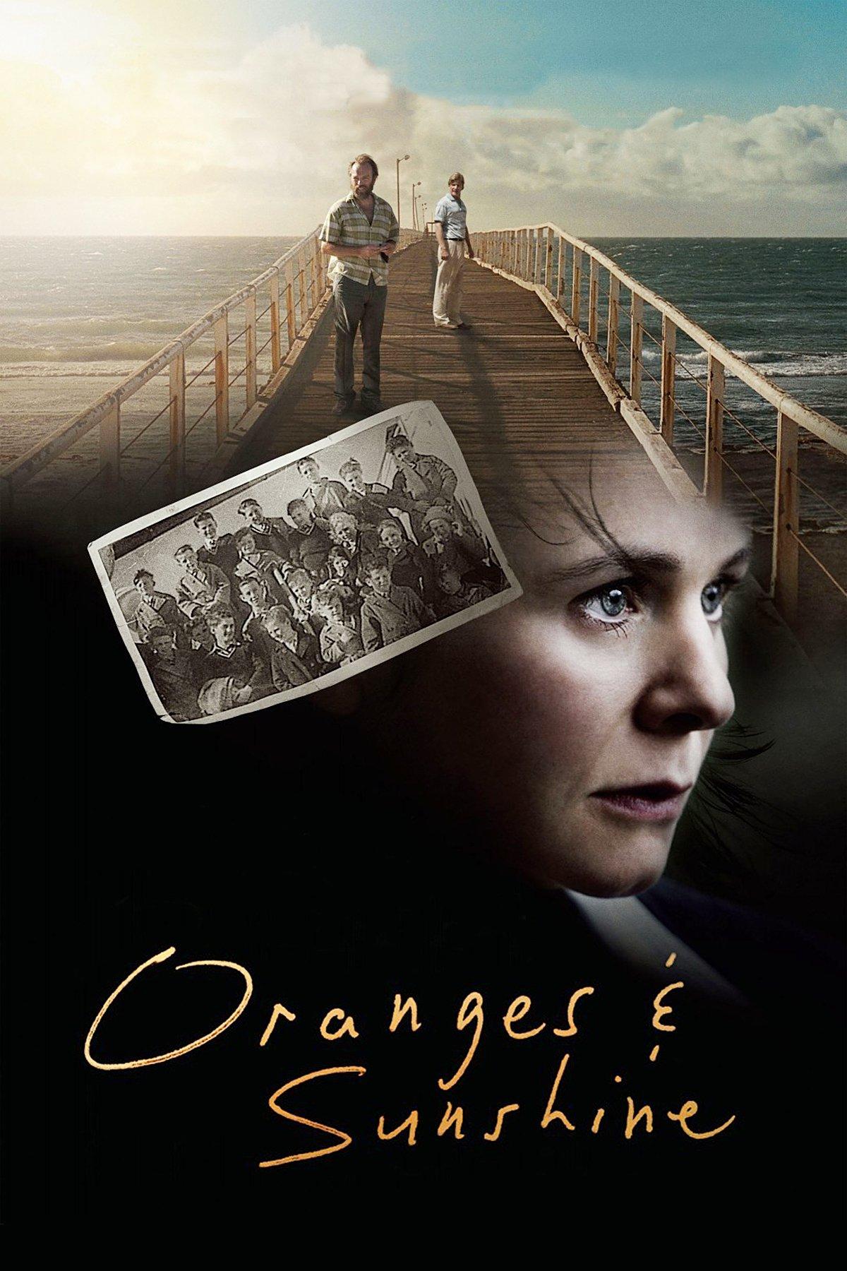 "Affiche du film ""Oranges and Sunshine"""
