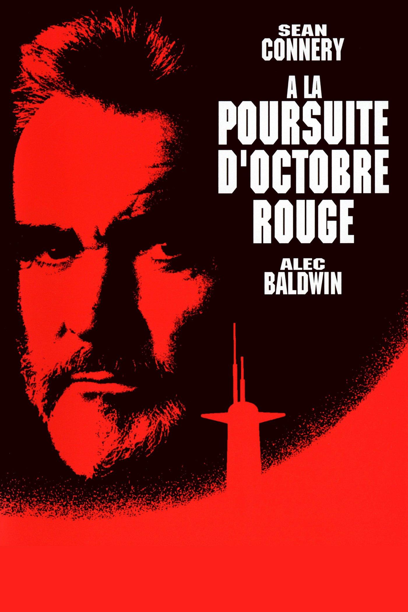 """Affiche du film """"À la poursuite d'Octobre Rouge"""""""