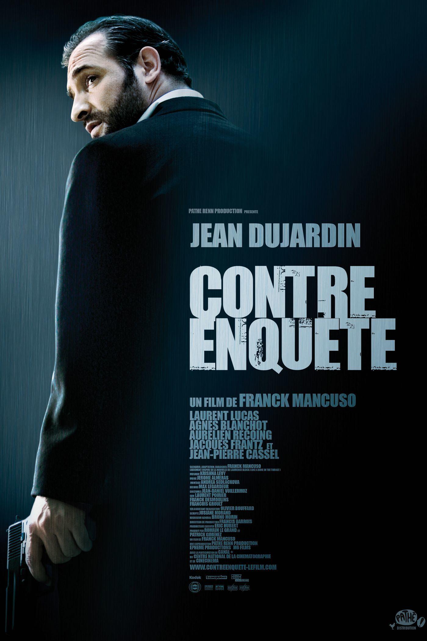 """Affiche du film """"Contre-enquête"""""""