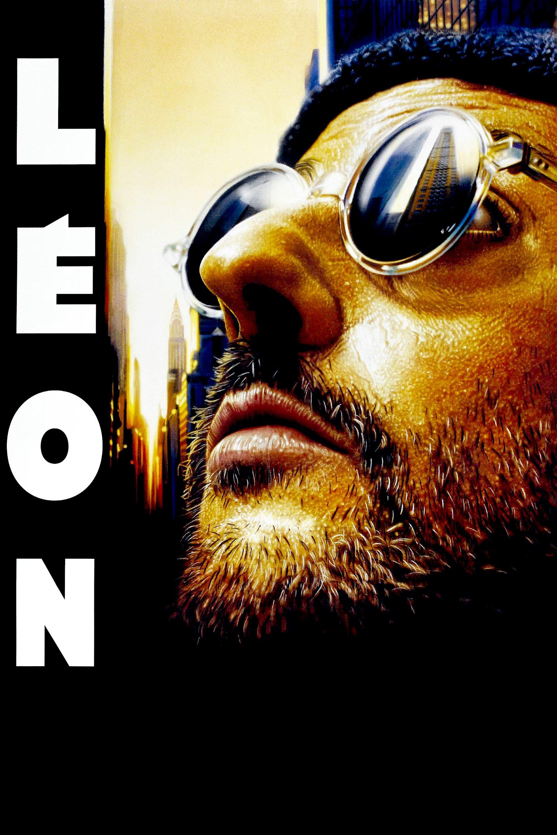 """Affiche du film """"Léon"""""""