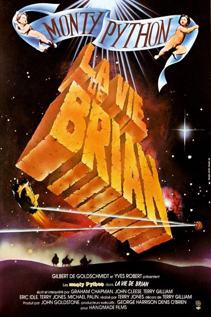 """Affiche du film """"Monty Python - La vie de Brian"""""""