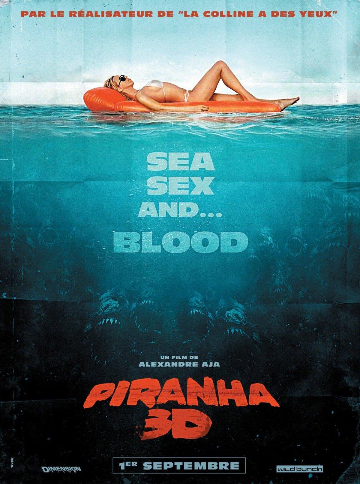 "Affiche du film ""Piranha 3D"""