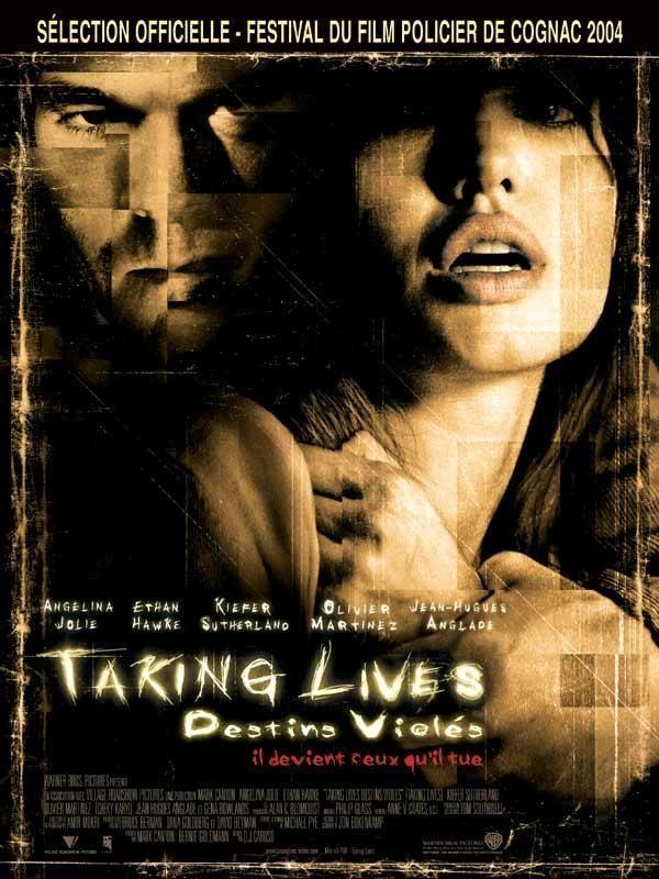"Affiche du film ""Taking lives, destins violés"""