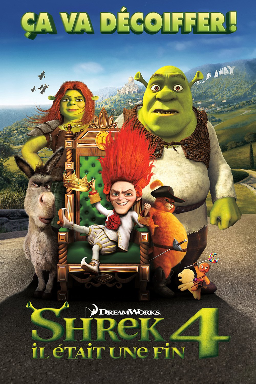 """Affiche du film """"Shrek 4 : Il était une fin"""""""