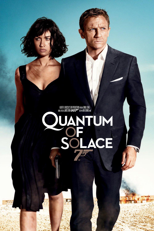 "Affiche du film ""Quantum of Solace"""