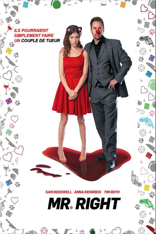 "Affiche du film ""Mr. Right"""