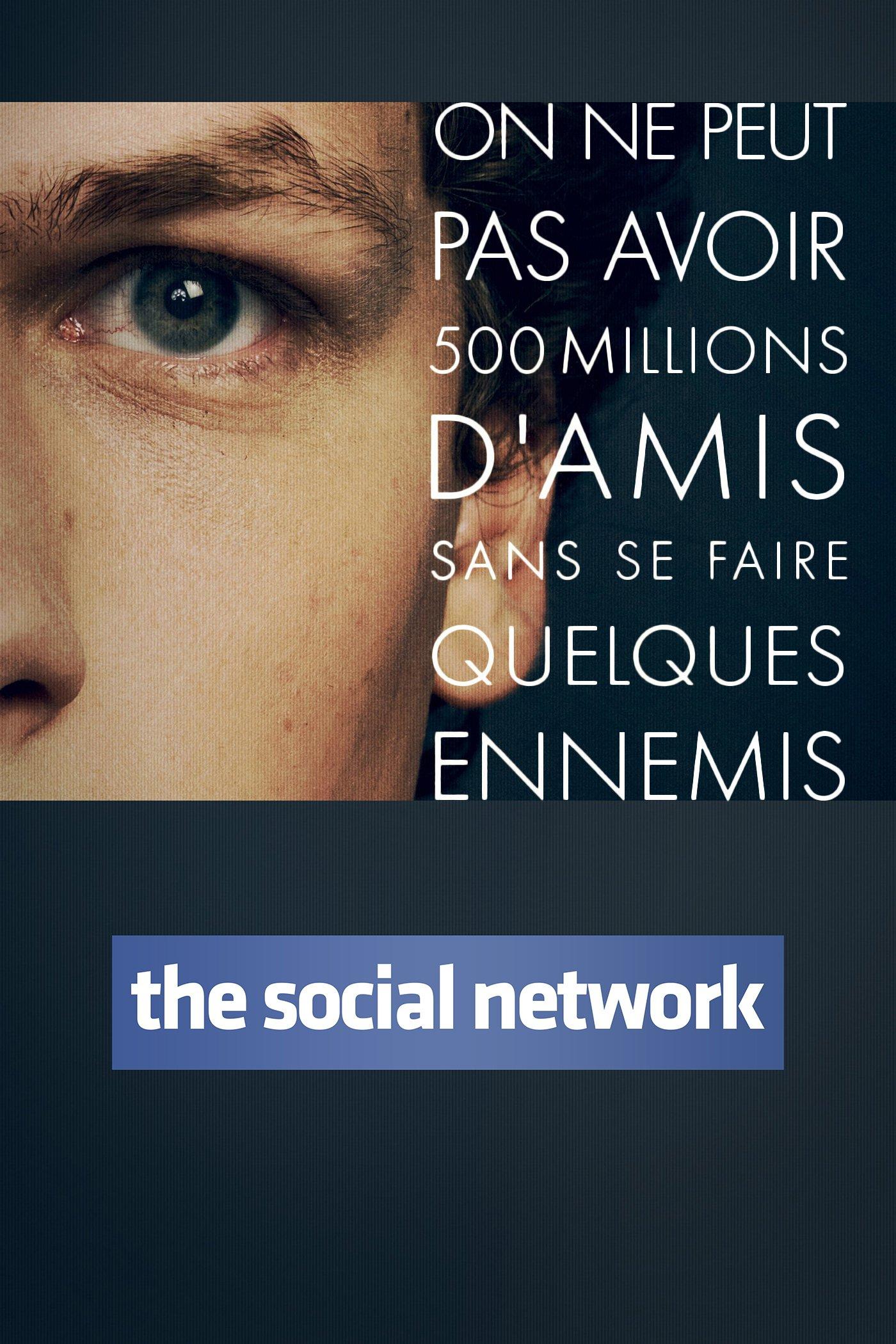 """Affiche du film """"The Social Network"""""""
