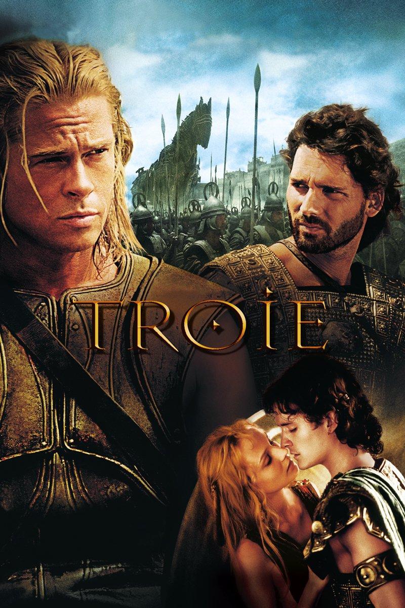 """Affiche du film """"Troie"""""""
