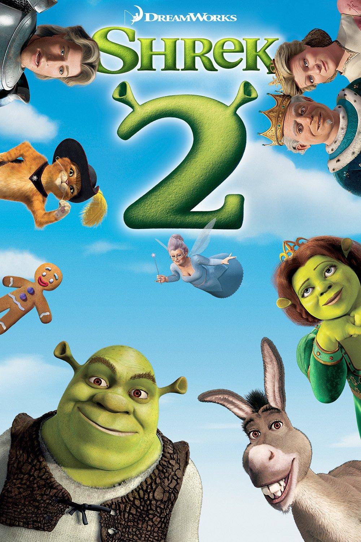 """Affiche du film """"Shrek 2"""""""