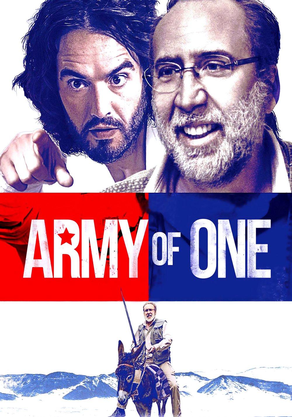 """Affiche du film """"Army of One"""""""
