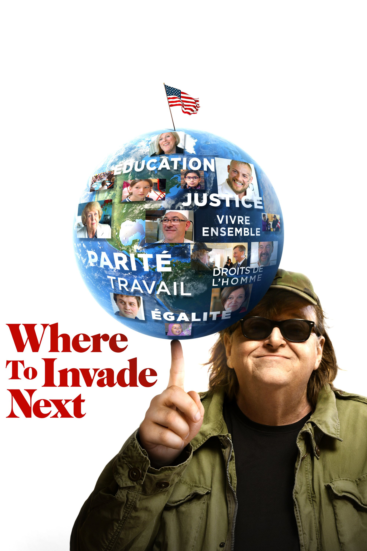 "Affiche du film ""Where to Invade Next"""