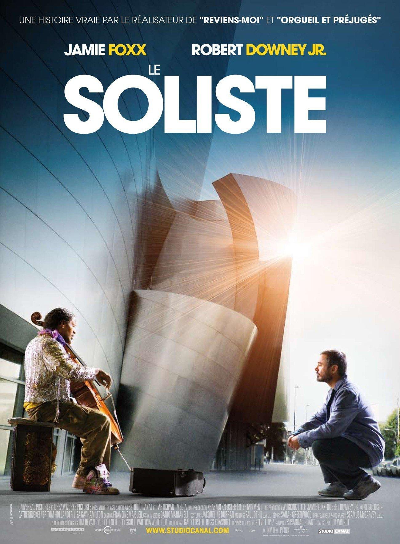 """Affiche du film """"Le Soliste"""""""