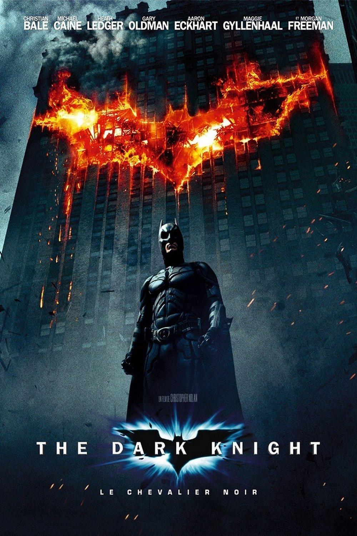 """Affiche du film """"The Dark Knight, Le Chevalier noir"""""""